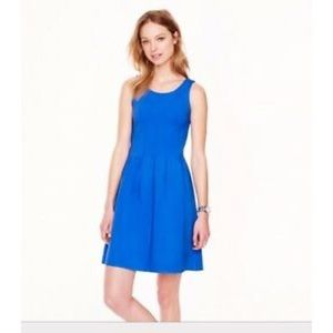 New J. Crew Pleated Flare Dress 0 00